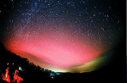 北海道でオーロラが見えるか