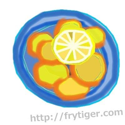 さつまいものレモン煮を電子レンジで作りましょう!栄養豊富で簡単!