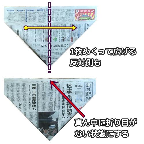 ハート 折り紙 新聞紙 袋 折り方 : frytiger.com