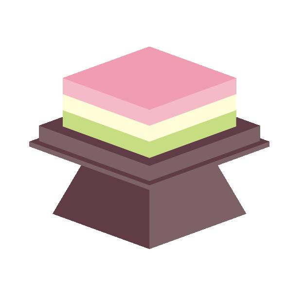 桃の節句の菱餅の色と形の意味とは