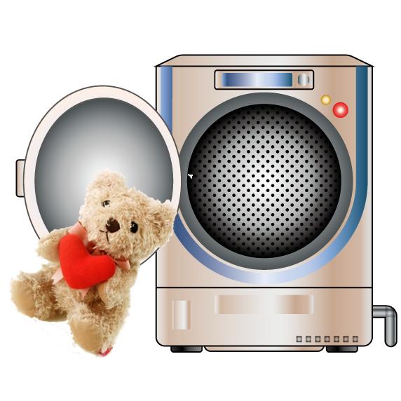 ぬいぐるみはドラム式洗濯機で洗えるでしょうか?