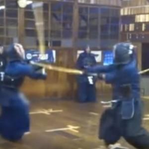 剣道の決め技、出小手の稽古のやりかた