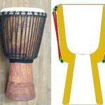 伝統ジャンベの構造とチューニングのやり方