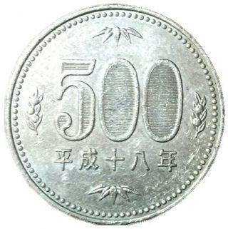 500円硬貨の偽造防止技術!隠し文字を探せ