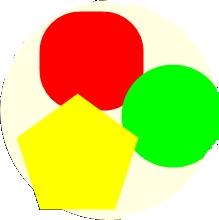 栄養を分類するのに色を使う方法がある