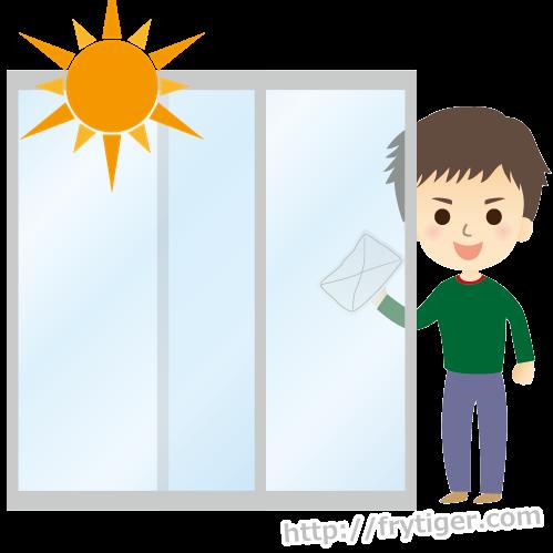 窓掃除の5つのコツとは?窓の大掃除はこれで決まり!
