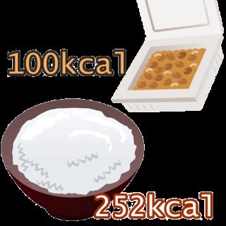 納豆ご飯のカロリーは?納豆を食べすぎると太るのか