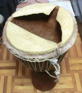 ジャンベの皮の張り替え!家庭で出来る方法を写真で詳細に解説